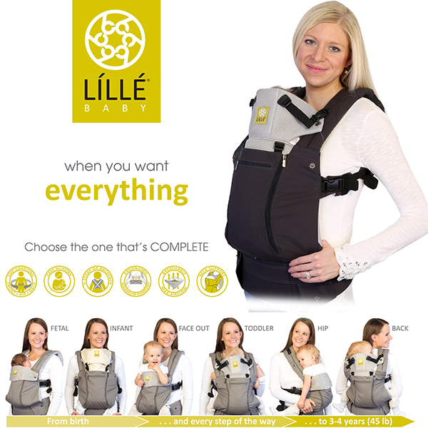 Ex Demo Model Lillebaby Complete All Seasons Charcoal