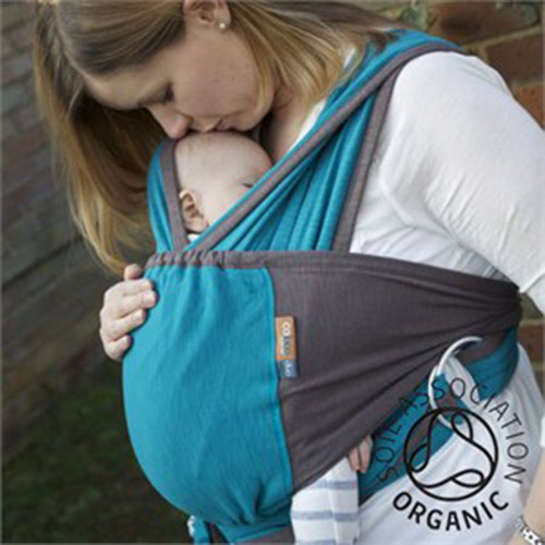 Caboo Baby Carrier Wrap Baltic Blue Huggle Baby Carriers