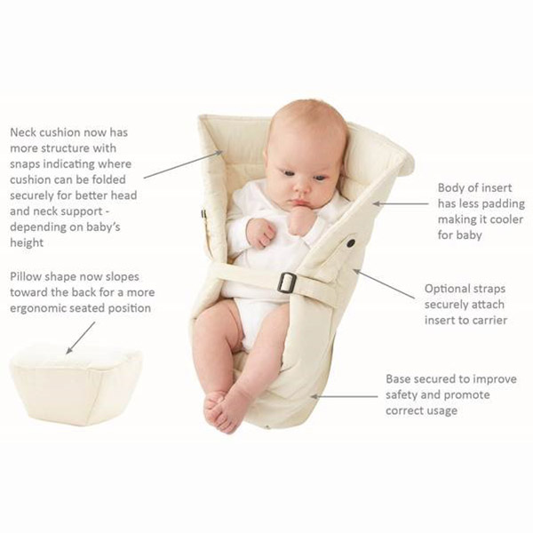 ergo infant insert how to use