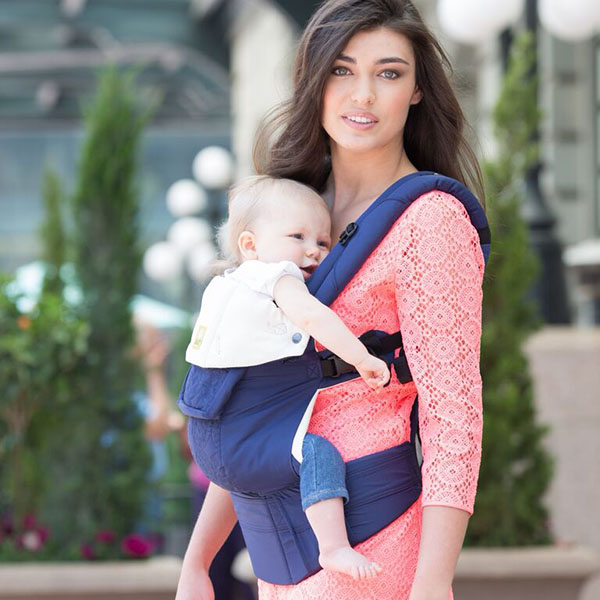 Lillebaby Complete Embossed Blue Soft Breathable