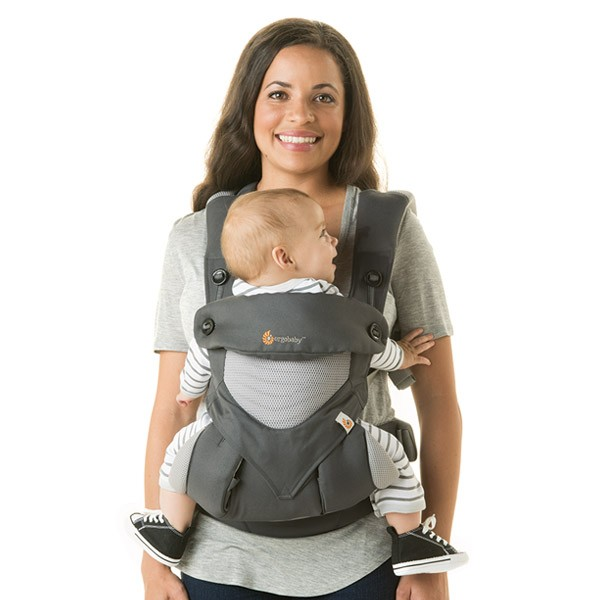 ergobaby 360 cool air carbon grey