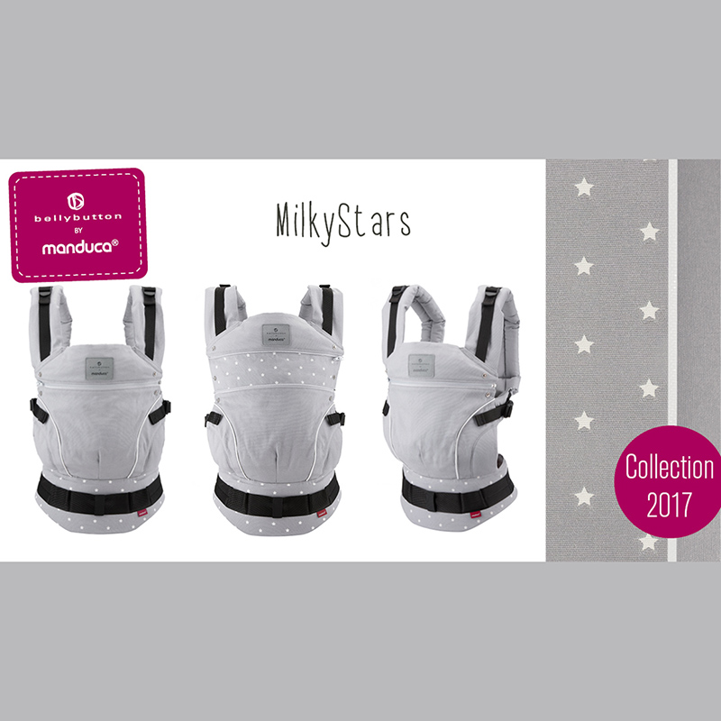Manduca Limited Edition Belly Button Milky Stars