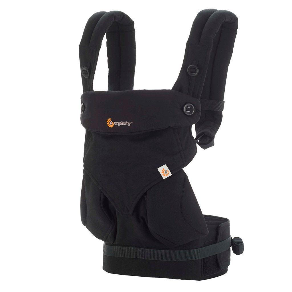 Ergobaby 4 Position 360 Pure Black Bellas Little Ones