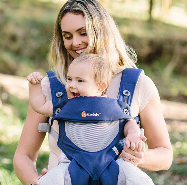 Ergobaby 360 Cool Air Performance French Blue Free Shipping