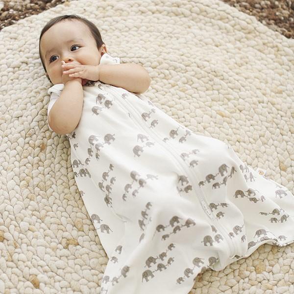 99a9dd745d5 Ergobaby Baby Sleeping Bag + Swaddle Set - Elephant (So Cute ...