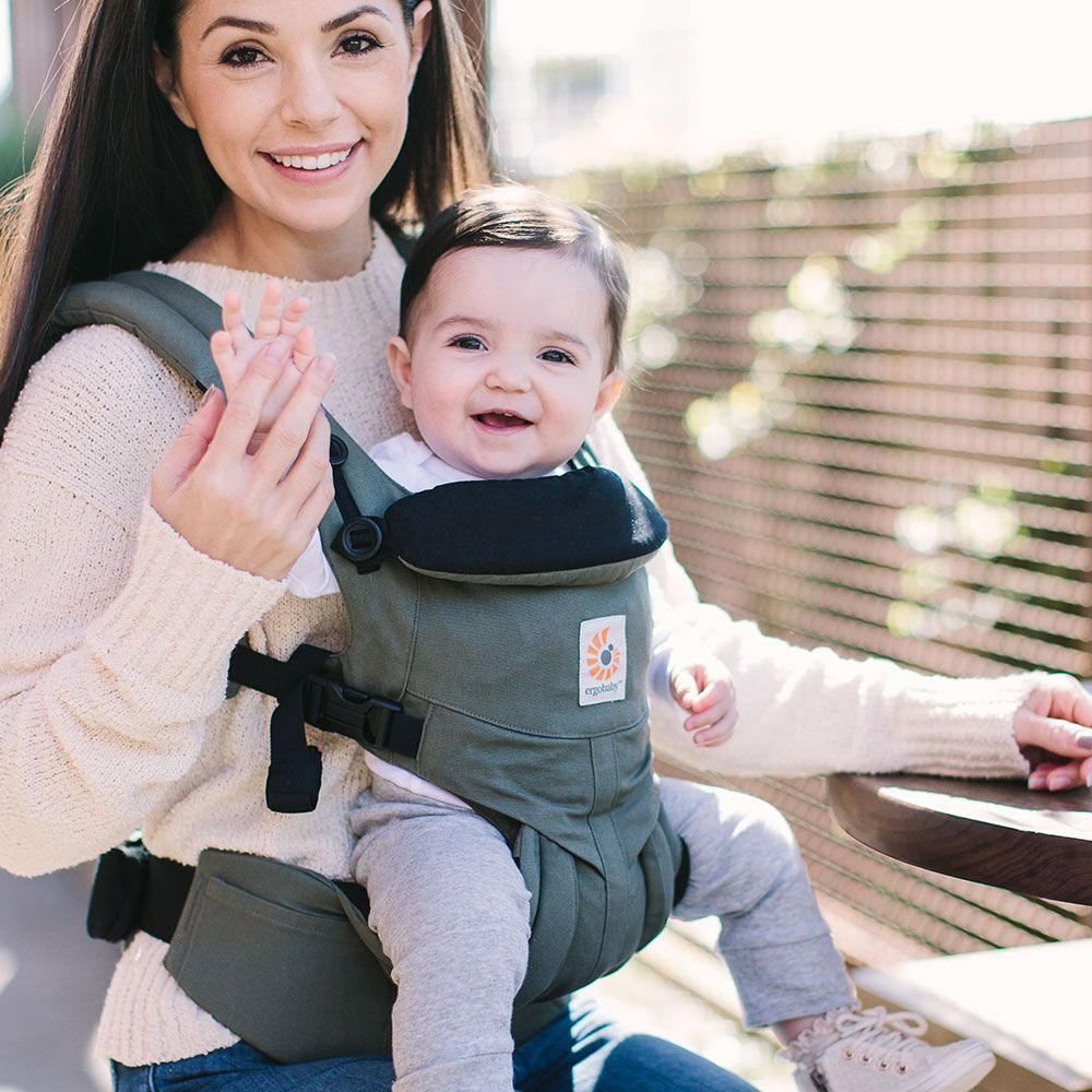 10e4460ae00 Ergobaby Omni 360 Carrier- Khaki (Free Shipping) - Bellas Little Ones