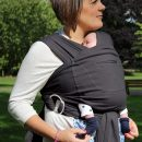 Caboo Baby Carrier -Cotton Blend -Phantom (from Newborn 2.3 to 14.5kg )