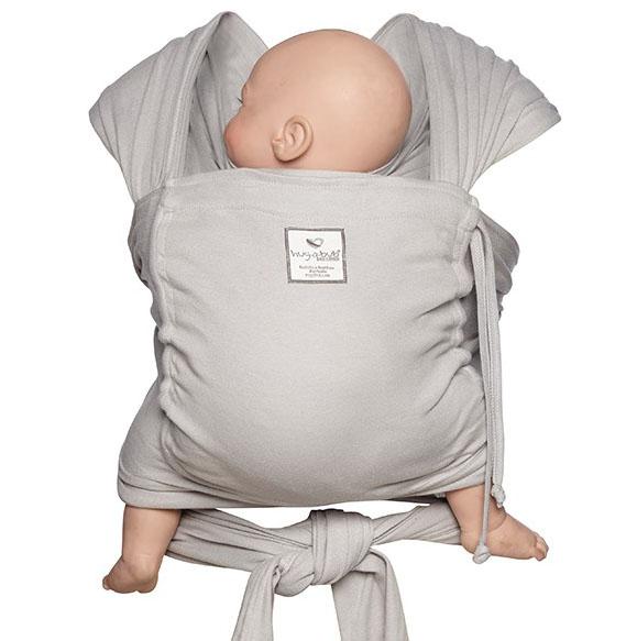 d4fce272689 Hug-a-bub Organic Baby Wrap - Byron Blue - Huggle Baby Carriers