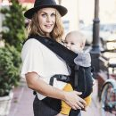 Beco 8 Baby Carrier-Black /Charcoal (Newborn 3.2kgs to 20 kgs)
